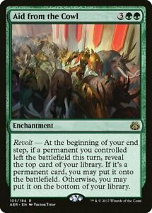 Aid from the Cowl - Aether Revolt NM/M - Green Enchantment EDH Commander