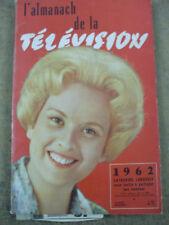 rare almanach de la télévision 1962 catherine langeais
