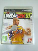 NBA 2K10 2k SPORTS Kobe Bryant Coque - Jeu De PLAYSTATION 3 PS3 sony