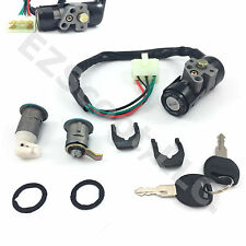 KEY IGNITION LOCK SET CHINESE SCOOTER ATV GY6 4STROKE YY50QT-14A JINLUN BENZHOU