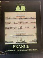Frank Lloyd Wright Architect France Vtg Architectural Design Magazine 1978