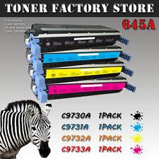 4PK 645A C9730A C9731A C9732A C9733A Toner For HP 5500 5500DN 5500DTN 5500HDN