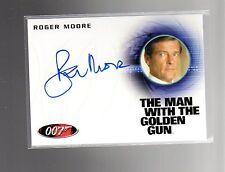 2016 James Bond Classics Autograph Roger Moore A 226 card
