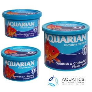 Aquarian Goldfish Flake 25g, 50g, 200g- Aquarium Fish Flakes for all Goldfish