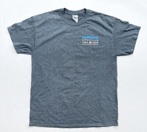 Shimano 2015 Caravan Tour Cycling Logo T-shirt Men's Size Large Shirt Rare HTF