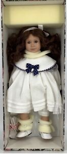 """RUTH TREFFEISEN  INJA 16"""" JOINTED POSABLE ARTIST DOLL MINT IN BOX NRFB WITH COA"""