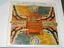 new SEALED LP Edward Power Biggs MUSIK für ORGEL orgue ORGAN gabrieli TELEMANN