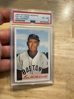 Ted Williams PSA 6 Boston Red Sox 1989 Bowman Inserts Babe Ruth Mickey Mantle NR