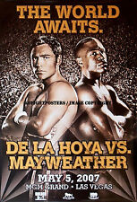 Oscar De La Hoya vs Floyd Mayweather Jr/original MGM sur site de Boxe Poster
