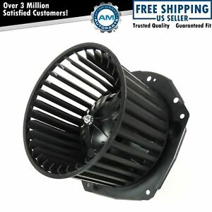 Heater A/C Blower Motor w/ Fan Cage for GMC S15 Chevy S10 Blazer Truck Olds