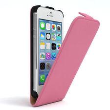 Tasche für Apple iPhone SE / 5S / 5 Flip Case Schutz Hülle Handy Cover Rosa