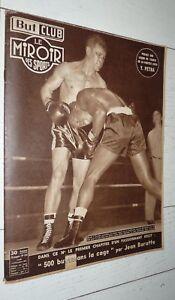 BUT & CLUB MIROIR SPORTS #323 1951 BOXE DAUTHUILLE TENNIS PETRA FOOTBALL BARATTE