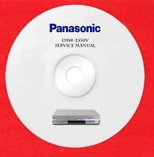 New listing Panasonic dmr-es30v Repair Service manual on 1 cd in pdf format