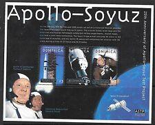 DOMINICA SG2843a 2000 APOLLO-SOYUZ SHEETLET MNH