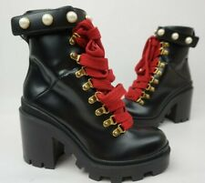 ff98615ef Gucci Leather Combat Boots for Women for sale | eBay