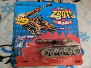 Micro Machines Z-Bots Military Combots Terra Treds Tank