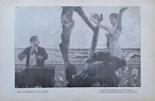 Max Klinger Evocation Brahms-Phantasie - Originaldruck aus 1903