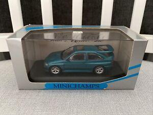 Minichamps 1:43 Ford Escort Cosworth 1992 Metallic Green 1 Of 1,008
