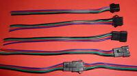 3 Paar JST XH Stecker Buchse Kabel LED 2,54mm 4Pin RGB Quadrocopter RC Akku usw.