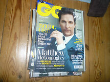 December Monthly GQ Magazines for Men