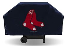 "Boston Red Sox Vinyl Grill Cover [NEW] MLB 68"" Wide Grilling Barbeque CDG"