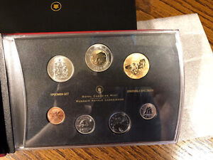 2006 7-Coin Specimen Set Royal Canadian Mint Rare Collectors RCM Snowy Owl