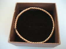 14 K 585 YELLOW GOLD BANGLE BRACELET 4.9 GRAMS