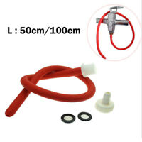 50cm/100cm Anal Enema Cleaning Tube Cleaner Douche Soft Silicone Nozzle Long