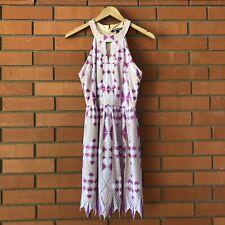 GIANNI BINI Women's Sleeveless Purple Lace Dress Size 2