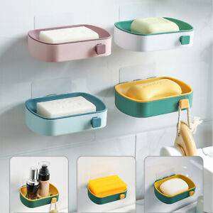 Soap Dishes for Bathroom Simple Self Draining Bar Soap Holder Shower Soap Saver