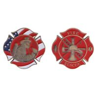 Commemorative Coin American Firefighting Mark Fire Collection Gifts Art Souvenir