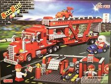 BanBao 8762 Transportation Truck Building Block Set 660pcs