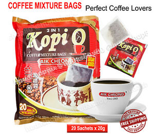 Coffee Mixture Aik Cheong 20 Sachets Made From Finest Graded Instant 2 IN 1