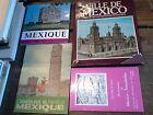 Lot de 4 livres et fascicules sur Mexico et le Mexique