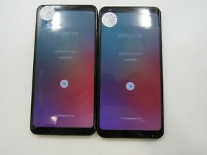 Google Locked Lot of 2 LG Stylo 4 Plus Q710 Unknown Carrier GLC AD-861