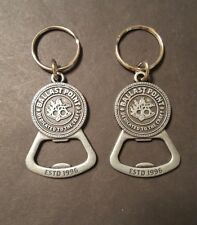 2 Ballast Point Brewery Key Chain Bottle Openers Silver