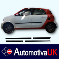 SMART ForFour Rubbing Strips | Door Protectors | Side Protection Body Kit