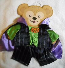 Duffy Bear Vampire Outfit Clothes Costume Disney New Nwt