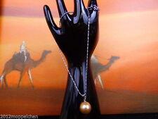 Perlen-Halsketten aus Gelbgold mit echten für besondere Anlässe