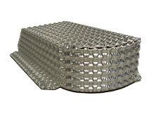GIIG2 Embossed Aluminium Heatshield Material Double Layer Sheet Nimbus 300x400mm