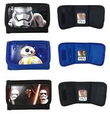 Disney Star Wars Bb-8 Kylos Ren Set of 3 Children boy Tri Fold Wallet