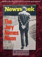 NEWSWEEK June Jun 17 1974 6/17/74 NIXON SLY STONE +++ Great BIRTHDAY gift!