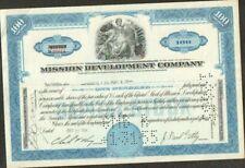 DECO => MISSION DEVELOPMENT COMPANY (USA) (X)