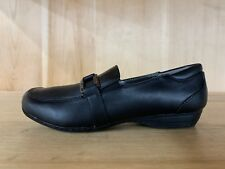 BLACK PENNY LOAFER KENNETH COLE REACTION GIRLS DRESS SHOES YOUTH SZ 1-5Y F89246