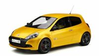 OTTO MOBILE 350 RENAULT CLIO 3 RS Ph2 Sport Cup resin model car yellow 1:18th