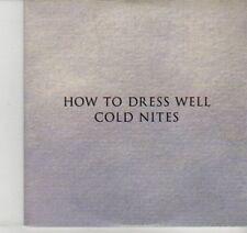 (DI524) How To Dress Well, Cold Nites - 2012 DJ CD