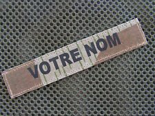 Bande patronymique ..:: SPLINTERTARN ::.. Name tape CAMO WW2 allemand luft helm