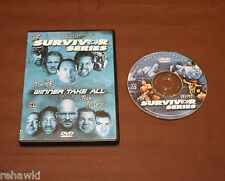 WWF SURVIVOR SERIES 2001 (DVD) WWE *RARE*