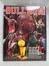 1995 96 Chicago Bulls Michael Jordan Bull Run Hardcover Book Greatest Team