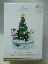 2012 Hallmark Keepsake Ornament Trimming The  Tree Frosty Friends